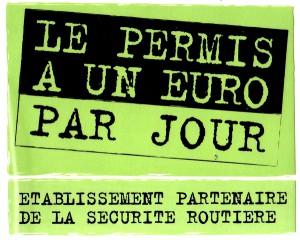 Permis à 1 Euro Par Jour - Ecole de Conduite Chartraine
