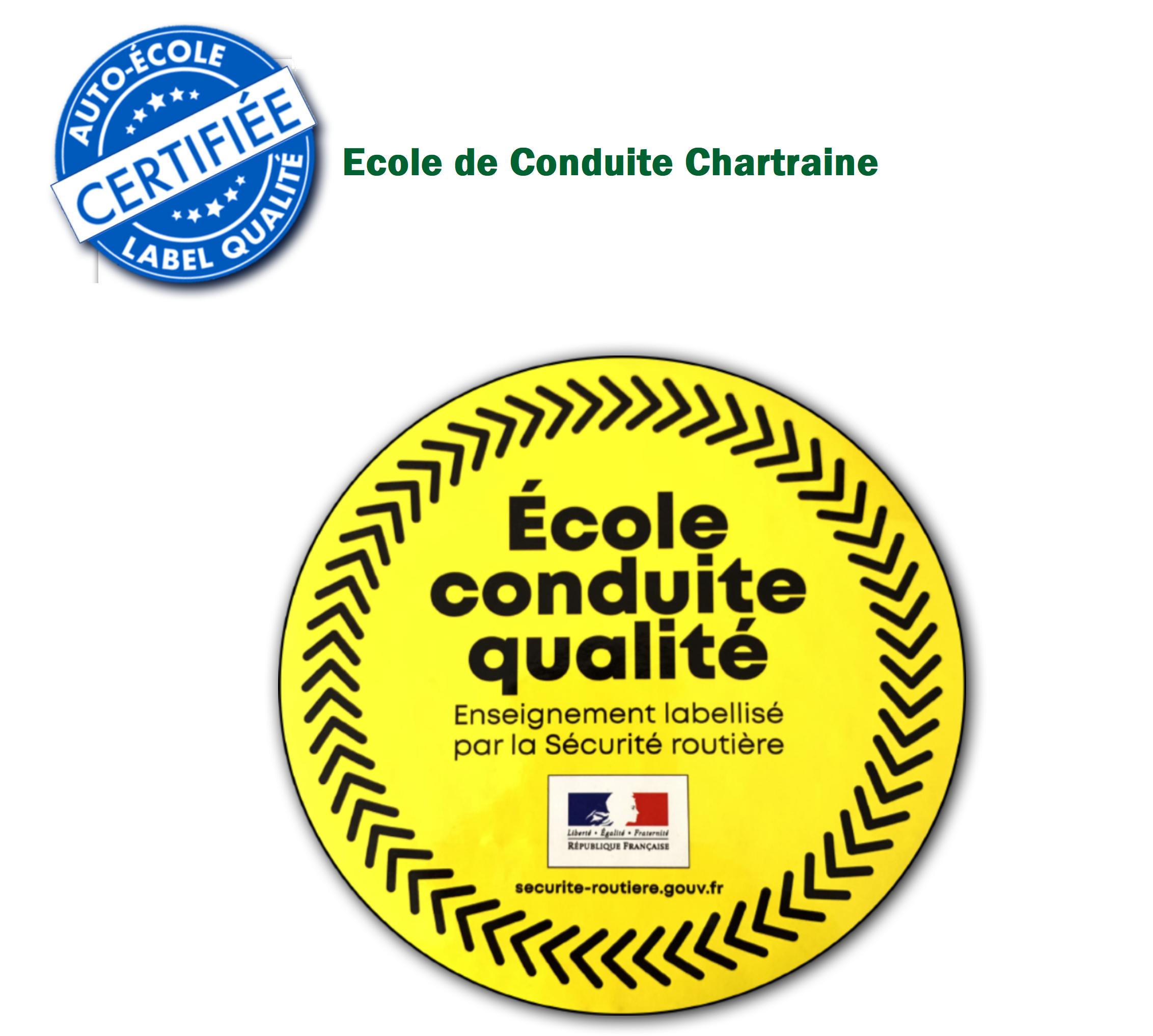 Note Ecole Est Labellisé Ecole Conduite Qualité